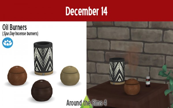 Around The Sims 4: Oil Burners