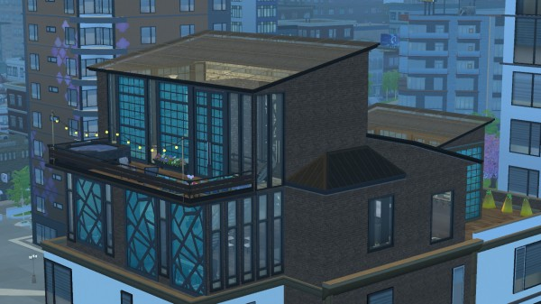Mod The Sims: Fountainview Penthouse Makeover by maddiexz3 P