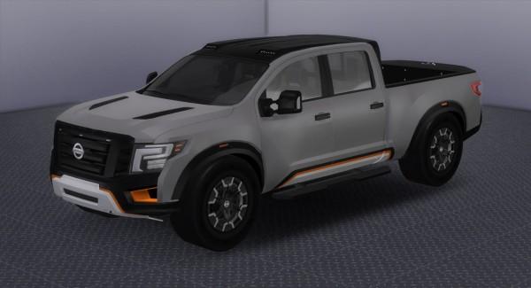 tylerw cars 2017 nissan titan warrior concept sims 4. Black Bedroom Furniture Sets. Home Design Ideas