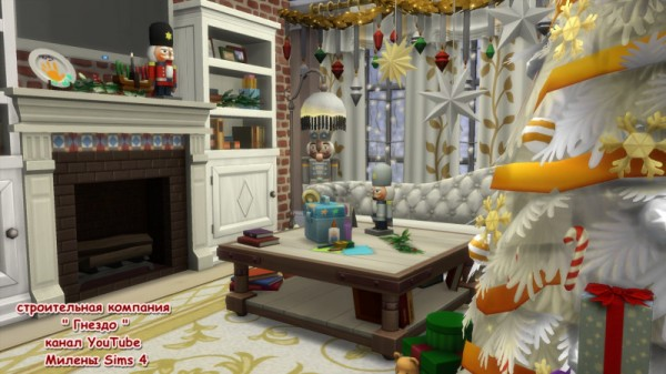 Sims 3 by Mulena: Christmas room 1