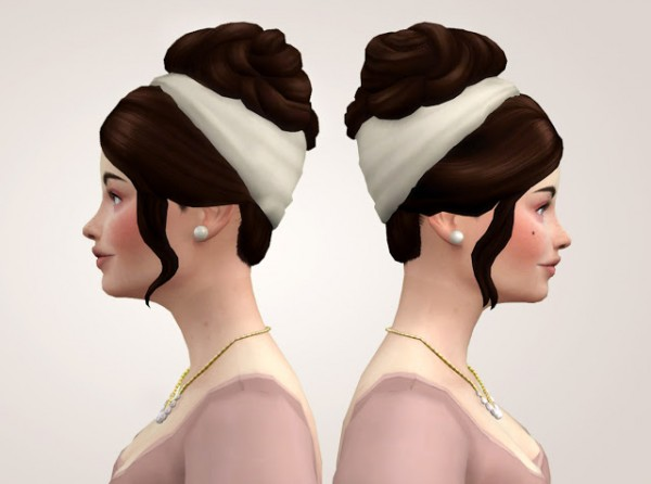 History Lovers Sims Blog: The Incomparable hair UpDo