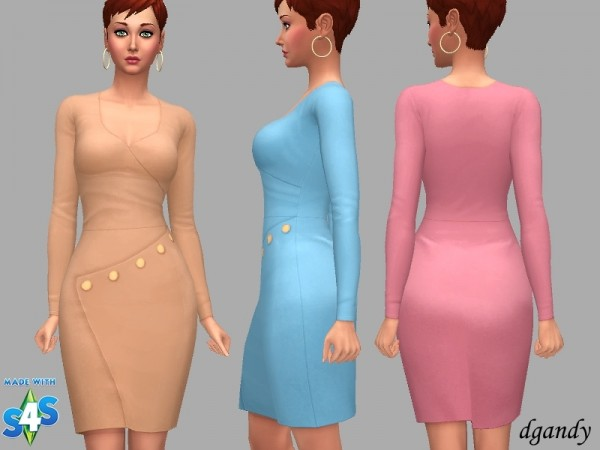 The Sims Resource: Dress Jasmine by dgandy