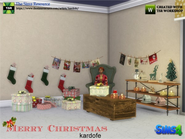 The Sims Resource: Merry Christmas by kardofe