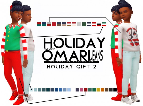 Onyx Sims: Holiday Gift 2