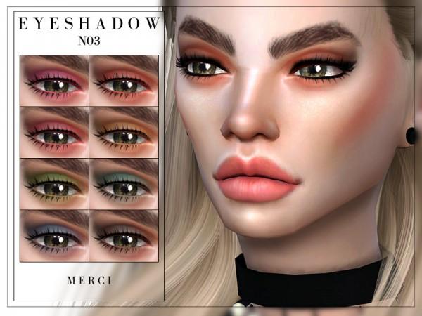 The Sims Resource: Eyeshadow N03 by Merci