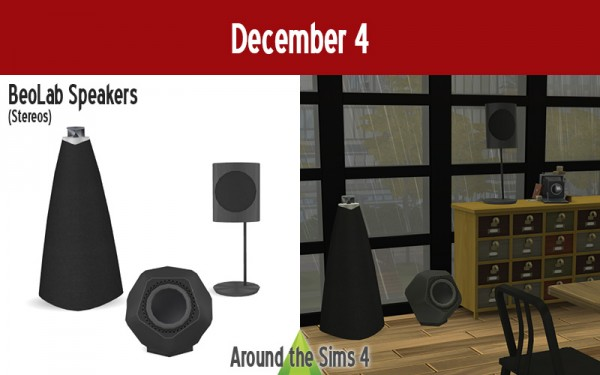 Around The Sims 4: Beo Lab Speakers