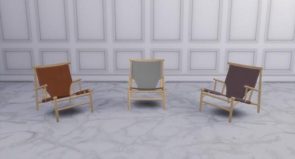 Meinkatz Creations: Samurai chair