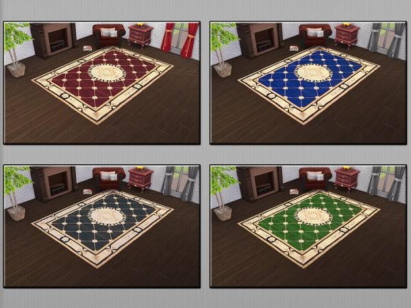 The Sims Resource: Urban Modern Rug Status by matomibotaki