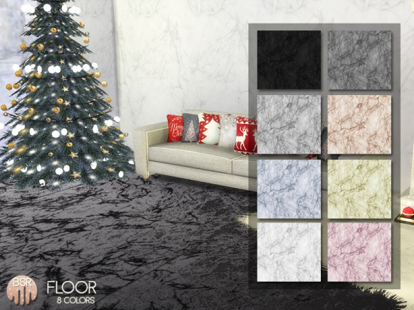 The Sims Resource: Marble Floors BB02 by busra tr