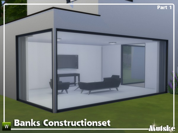 The Sims Resource: Banks Construction set Part 1 by mutske