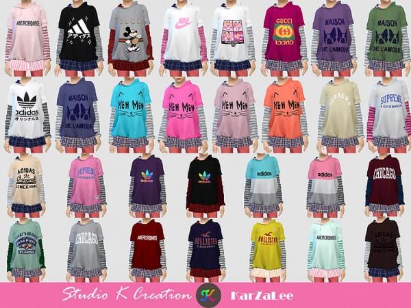 Studio K Creation: Hoodie sweatshirt for child