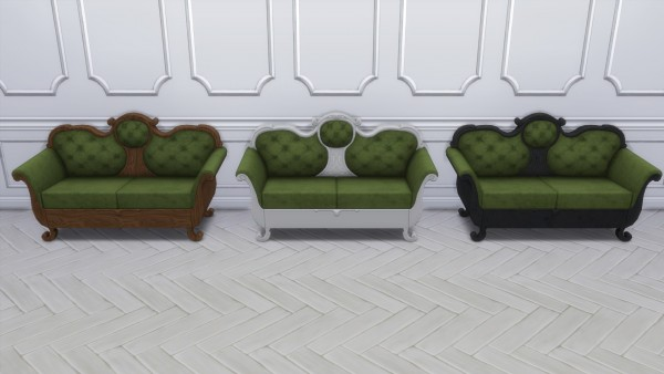 Mod The Sims: Antique Bedroom by TheJim07