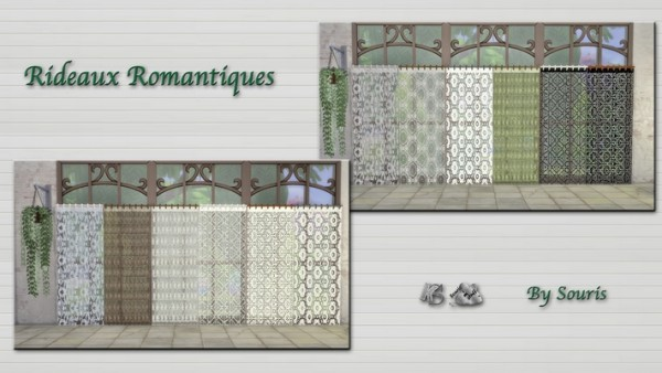 Khany Sims: Romantiques Curtains
