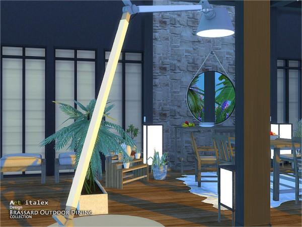 The Sims Resource: Brassard Outdoor Dining by ArtVitalex