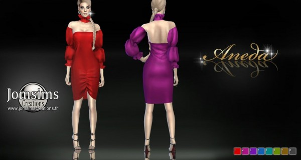 Jom Sims Creations: Aneda Dress