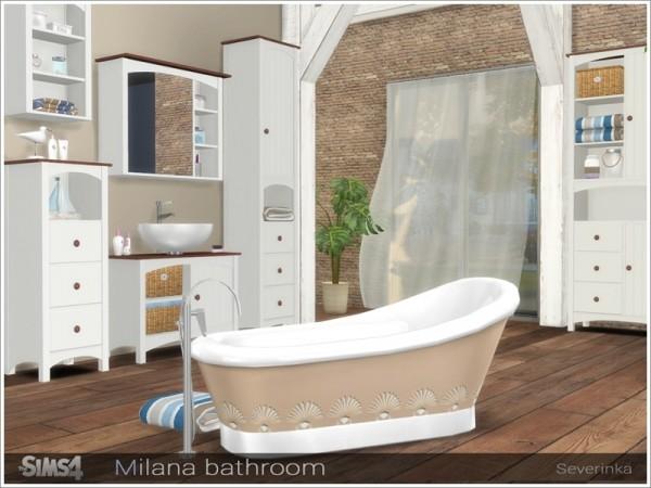 The Sims Resource: Milana bathroom by Severinka
