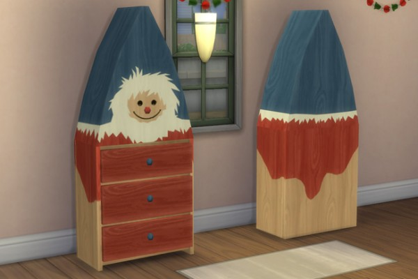 Blackys Sims 4 Zoo: Gnome cupboard by mammut