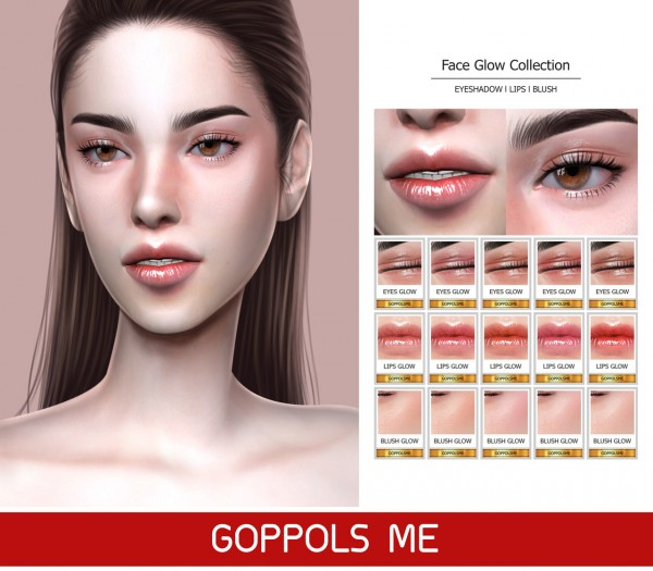 GOPPOLS Me: Face Glow Collection