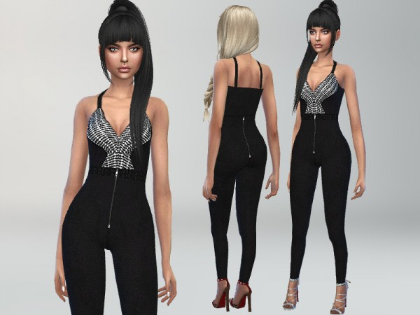 The Sims Resource: Party Jumpsuit by Puresim