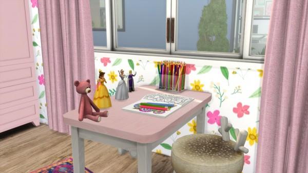 Models Sims 4: Toddler Girl Room