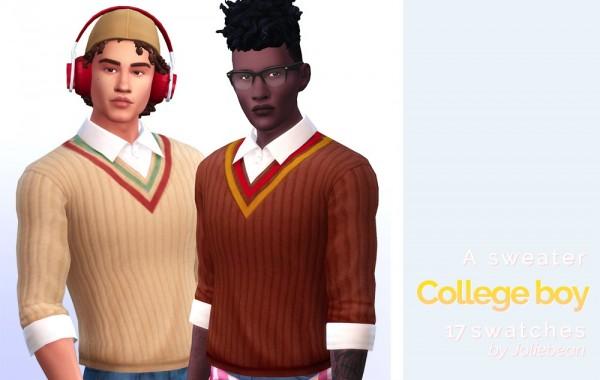 Joliebean: College Boy sweater