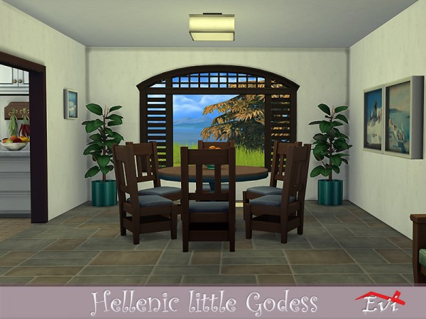 The Sims Resource: Hellenic Little Godess House by Evi