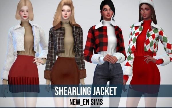 Newen: Shearling Jacket