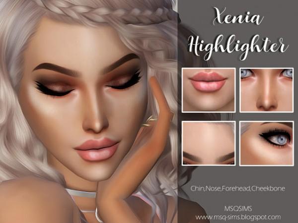 MSQ Sims: Xenia Highlighter