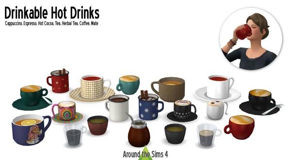 Around The Sims 4: Hot Drinks