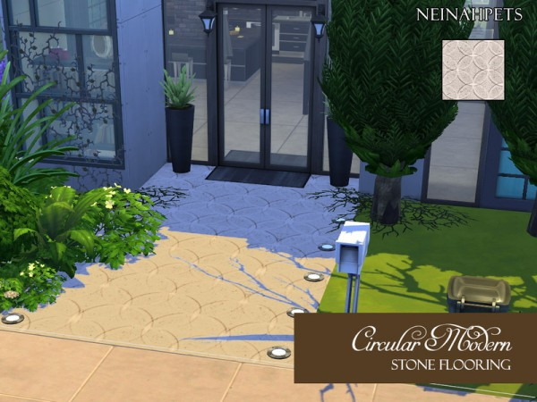 The Sims Resource: Circular Modern Floor Pattern by neinahpets