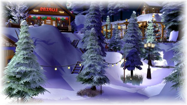 Luniversims: Winter station by chipie cyrano