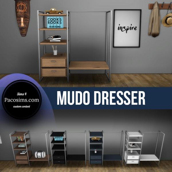 Paco Sims: Mudo Dresser
