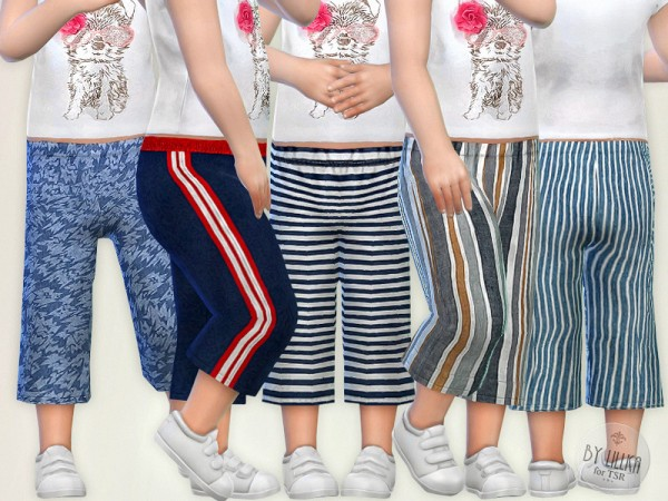 The Sims Resource: Pants for Toddler by lillka