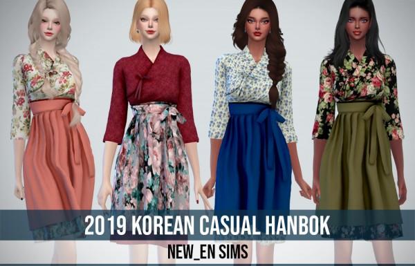 Newen: Korean Casual HanBok  Dress