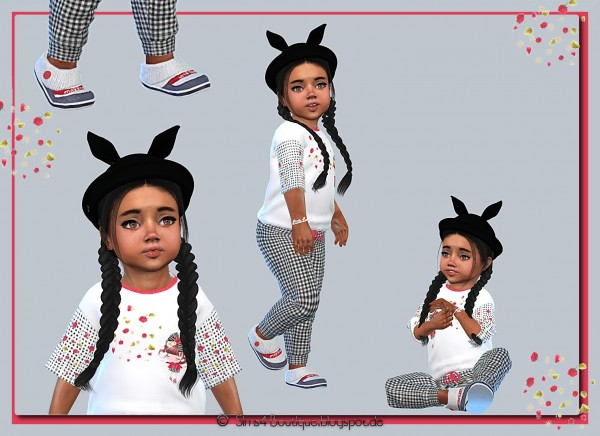 Sims4 boutique: Set for little Girlis
