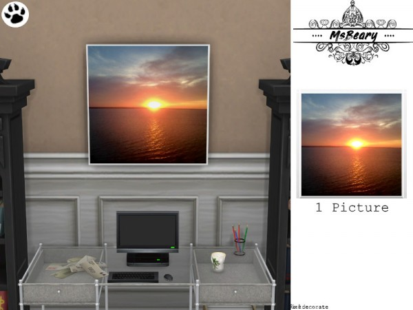 The Sims Resource: Sunset and Water Pictures by MsBeary