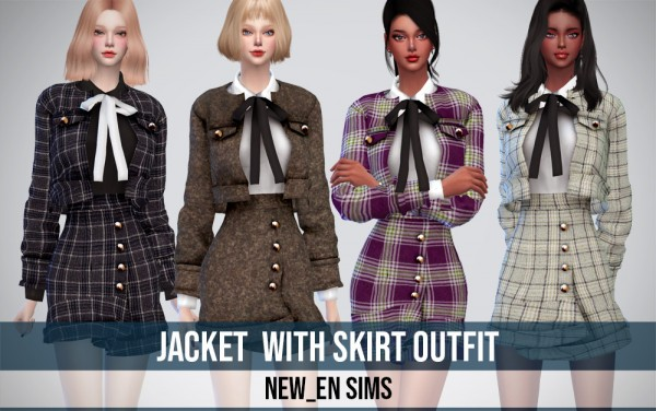 Newen: Jacket With Skirt Outfit