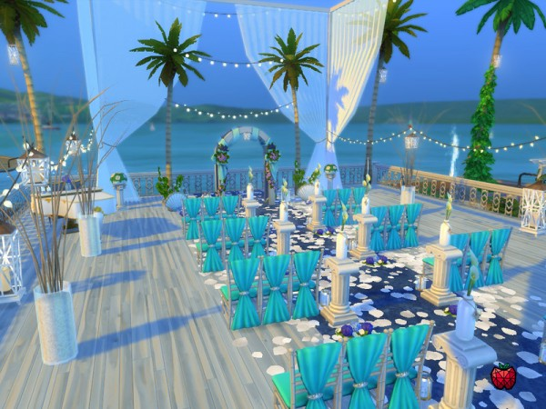 The Sims Resource Mandy Wedding Venue By Melapples