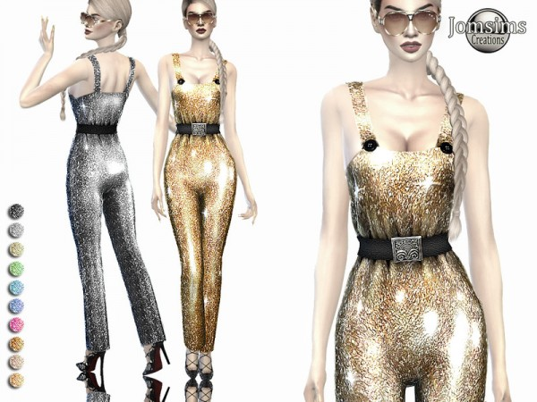 The Sims Resource: Nebulea galaxia outfit by jomsims