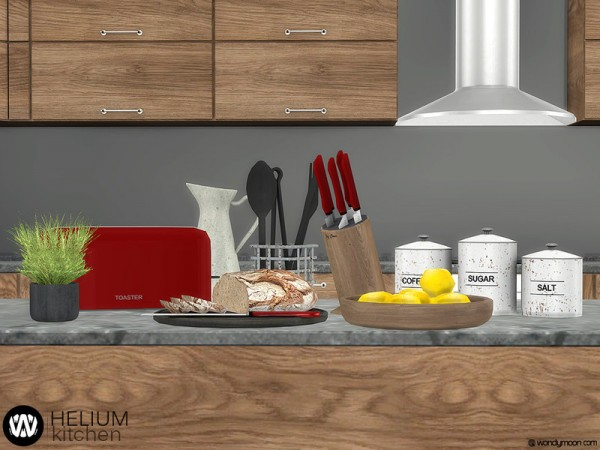 The Sims Resource: Helium Kitchen Decorations by wondymoon ...