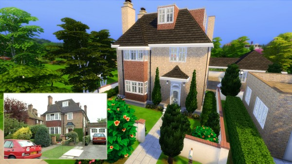 Mod The Sims: Hermione Grangers house  Harry Potter builds by iSandor