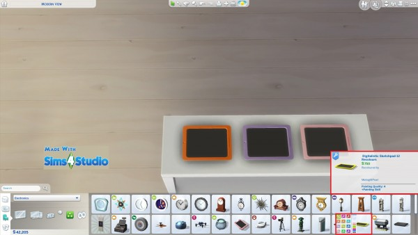 Mod The Sims Digitalistic Sketchpad By Wendy35pearly