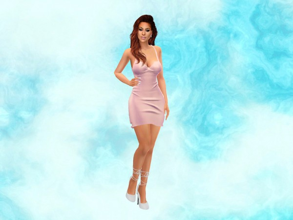 The Sims Resource: Marble CAS Background III by KatVerseCC