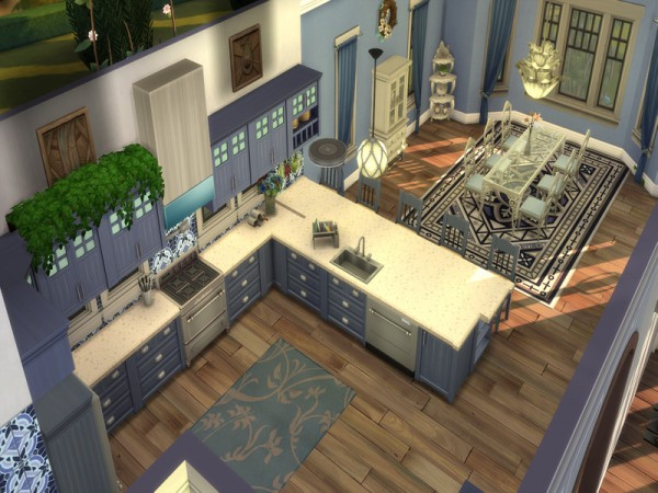 The Sims Resource: Meadowdale Mansion by LJaneP6