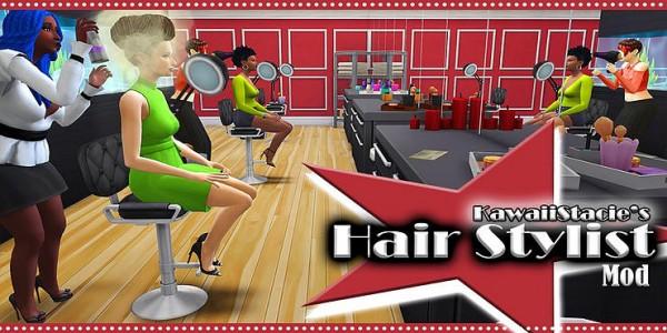 Kawaiistacie: Hair Stylist Mod