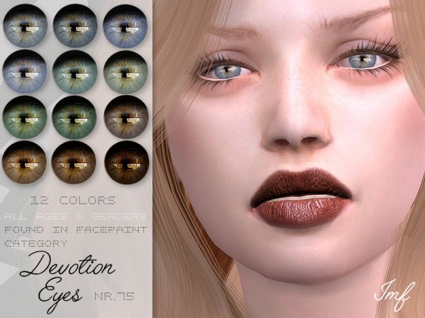 The Sims Resource: Devotion Eyes N.75 by IzzieMcFire