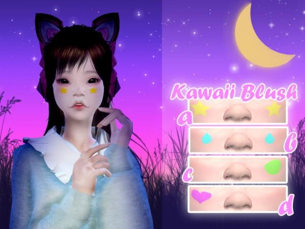 The Sims Resource: Kawaii Blush 01 by Luas Sims