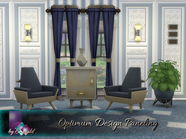 The Sims Resource: Optimum Design Paneling by emerald