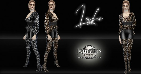 Jom Sims Creations: Lesfie outfit