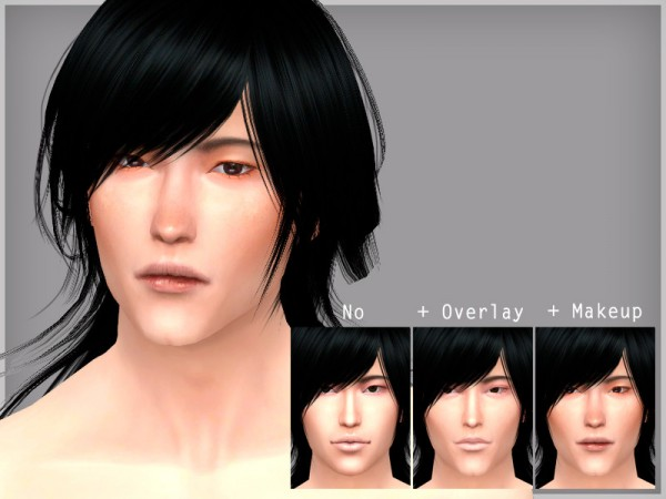 The Sims Resource: Gabriel   face overlay by WistfulCastle